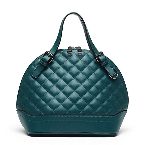 Guanta New European And American Fashion Handbags Quilted Shell Lady Bag(green)