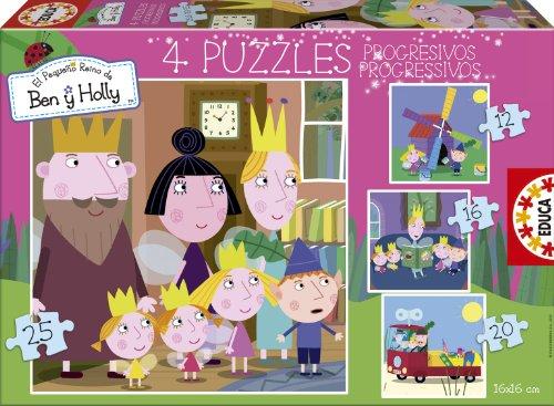 Ben & Holly - Progressive puzzle
