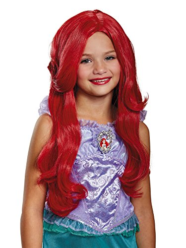 Ariel Wigs (Ariel Deluxe Child Wig, One Size)