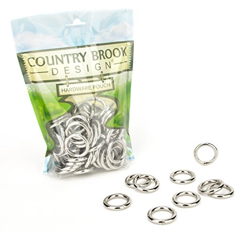 Country Brook Design 100 3/4 Inch Welded Heavy O-Rings