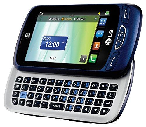 LG Xpression C410 Qwerty Keyboard Slider Cellphone GSM Unlocked – Blue