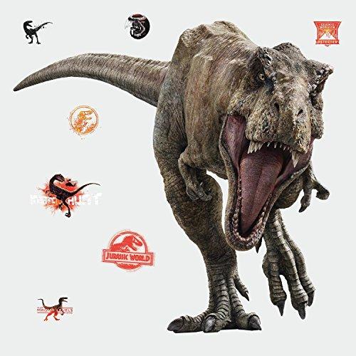 RoomMates JURASSIC WORLD 2: Fallen Kingdom T-Rex Giant Wall Decal