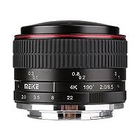 MEKE Meike 6.5mm f/2.0 Ultra Wide Manual Focus Circular Fisheye Lens