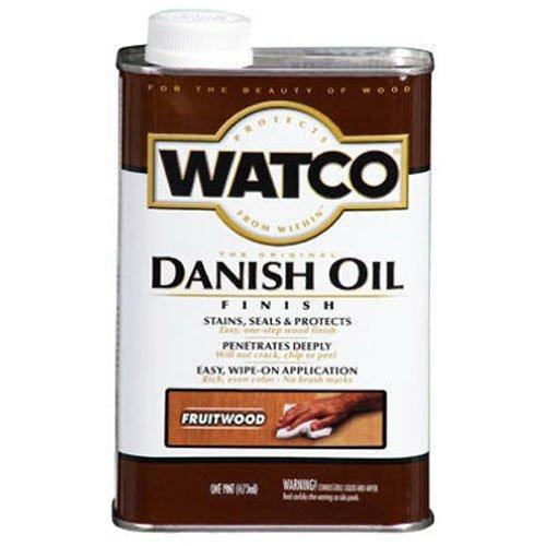 65441 Watco Quart Fruitwood Danish Oil Finish by Rust-Oleum