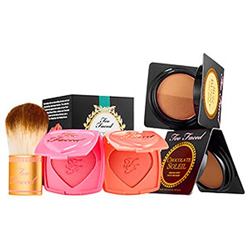 Too Faced Beautifully Blushed & Bronzed Deluxe Set ~ Limited Edition