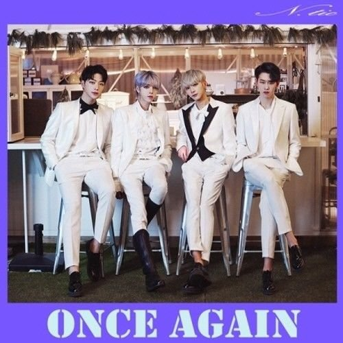 N.Tic - [Once Again] Debut Album CD+Booklet K-POP Sealed Korean Boy Group Visual