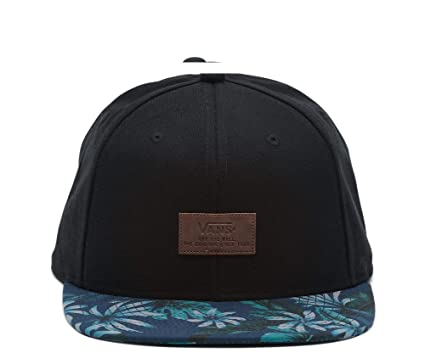 4975ae4ef0 Image Unavailable. Image not available for. Colour  Vans Men s Allover It  Snapback Hat Black One-Size VN0000X2QHW
