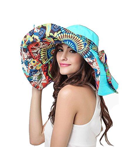 Women Bucket Anti UV Foldable Travel