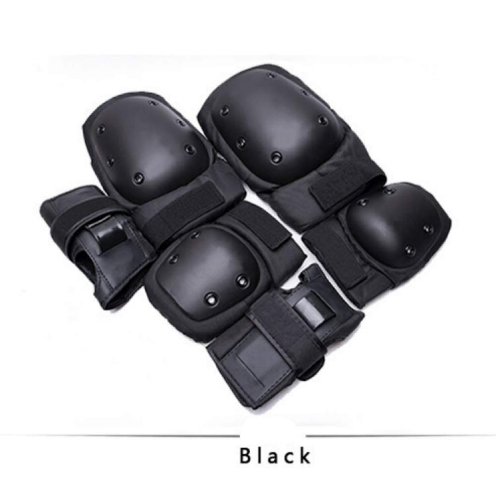 Beetle LLC - 6 Pieces/Set Unisex Skating Protective Gear Knee Elbow pads wrist Guard Cycling Skateboard Ice Skating Roller Skating Protector