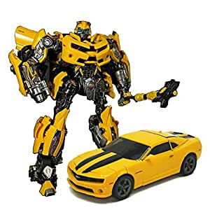 WEIJIANG Transformer Autobot BB LT01 MPM03 MPM-03 M03 TF5 Movie Bumblebee Oversize 28CM Alloy Version Collection Action Figure Robot Toys