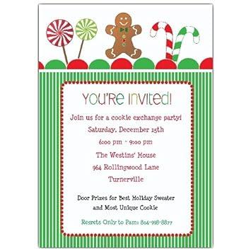 amazon com simply sweet christmas party invitations health