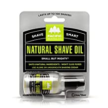 Pacific Shaving Company All Natural Shaving Oil - 15 ml (0.5 oz)