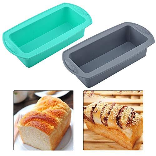 Siliconen Broodpan Toast Pan Bakvorm Rechthoekige Cake Anti Aanbak Schimmel Toast Mould Rechthoekige Bakvorm…