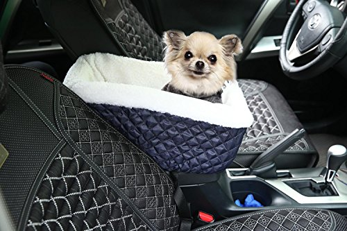niceeshop tm console dog car seat for small pets with safety belt royal blue price reviews. Black Bedroom Furniture Sets. Home Design Ideas