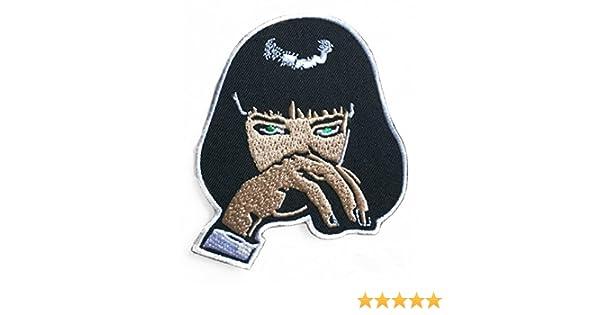 Parche de Mia Wallace (3.5 pulgadas) Pulp Fiction bordado para ...