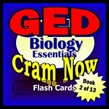 GED Prep Test BIOLOGY Flash Cards--CRAM NOW!--GED Exam Review Book & Study Guide (GED Cram Now! 2)