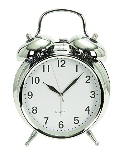 Deco 79 Metal Table Clock 6
