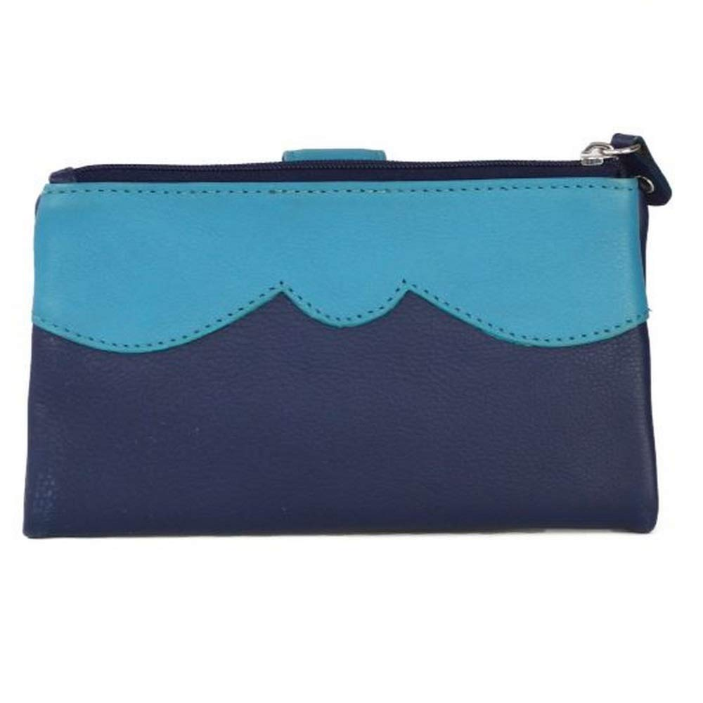 Eastern Counties Leather Womens/Ladies Kylie Soft Frame Coin Purse (One Size) (Coral/Black) UTEL319_1