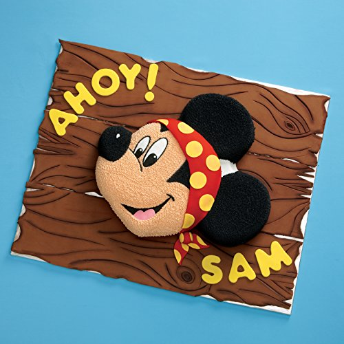 Wilton Aluminum Mickey Mouse Cake Pan by Wilton (Image #2)
