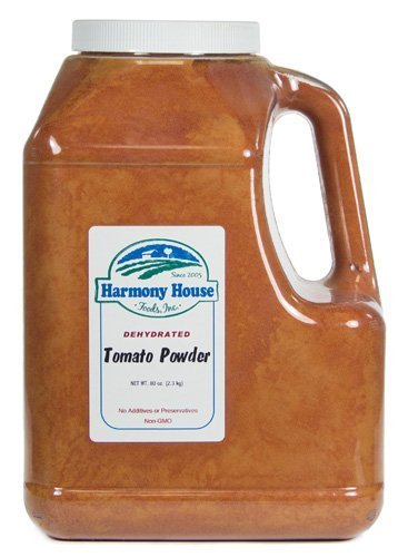 Harmony House Foods, Dried Tomato Powder (5 lb, Gallon Size Jug) (Diced Tomatoes Jar compare prices)