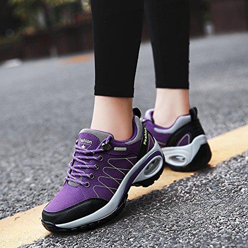 Course pour l'usure Dames antidérapantes de Femmes Mode et en à résistantes Sport Chaussures Saisons de de Daim la à Quatre Suetar randonnée Chaussures Chaussures pour Y7gwxH