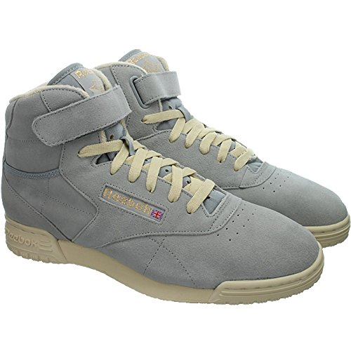 a CLEAN Sneaker Reebok HI O collo uomo alto VINTAGE FIT Grigio Grau Grau EX tRqYrq0