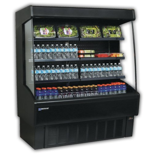 Master-Bilt, VOAM60-79, Vertical Open Air Merchandiser, Refrigeration, 35.9 Cubic Feet, Black