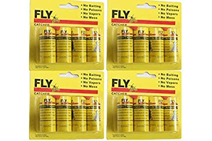 Rescue Fly Tape 3 Pack Free Ship Fly Strip Fly Trap Livestock Supplies