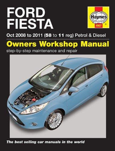 ford fiesta petrol diesel 2008 2011 haynes manual amazon co uk rh amazon co uk Ford Mondeo 2012 ford mondeo 2011 user manual pdf