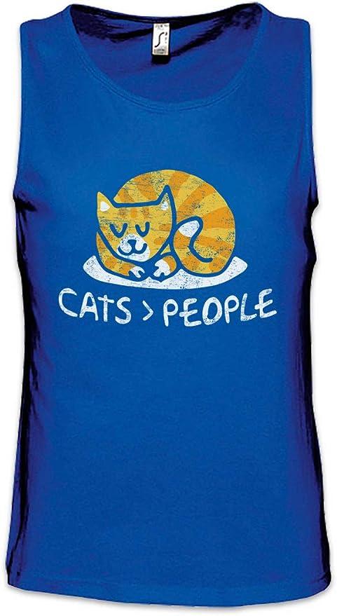 Urban Backwoods Cats People Hombre Camiseta Sin Mangas Men ...