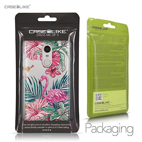 CASEiLIKE Funda Mi A1 , Carcasa Xiaomi Mi A1, Búho diseño gráfico 3318, TPU Gel silicone protectora cover Flamenco tropical 2239