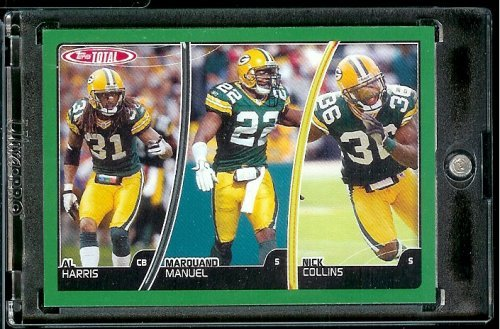 (2007 Topps Total # 125 Marquand Manuel - Nick Collins - Al Harris - Green Bay Packers - Football)