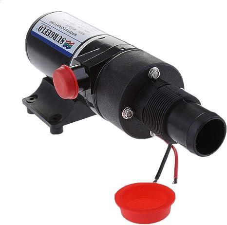 12V 24V Macerator Toilet Sewage Waste Water Pump 45 L//min