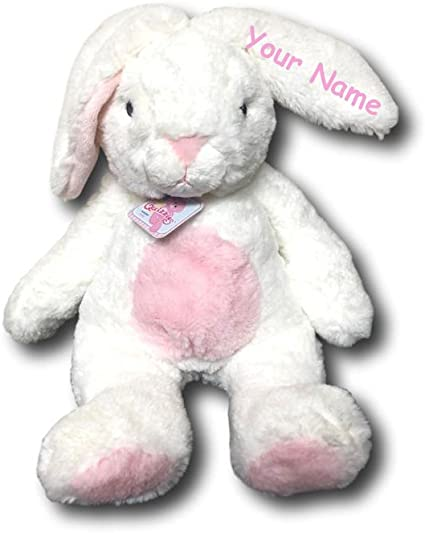 Plush Doll Choose from Colors Can be personalized Easter Bunny Rabbit