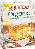 Krusteaz Organic Cornbread and Muffin Mix, Honey, 14 Ounce