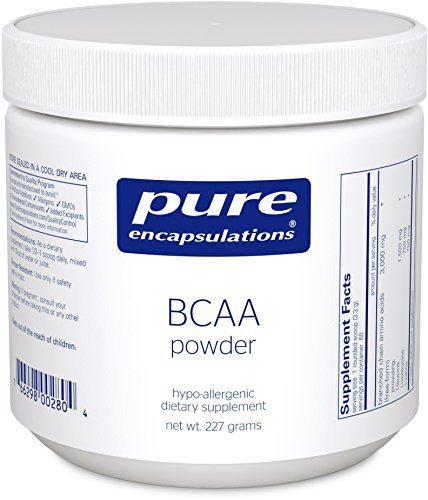 Pure Encapsulations - BCAA Powder - Hypoallergenic Supplement To Support Muscle Function During Exercise* - 227 Grams