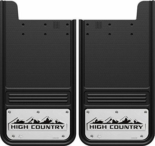 Gatorback Chevy Silverado High Country Truck Mud Flaps - Rear Pair