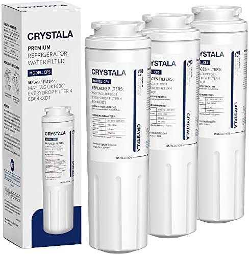 Refrigerator Replacement UKF8001AXX Crystala Filters product image