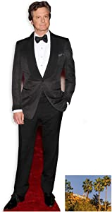 Fan Pack - Colin Firth LIFESIZE Cardboard Cutout (Standee/Standup) - Includes 8X10 (25X20CM) Star Photo - Fan Pack #269
