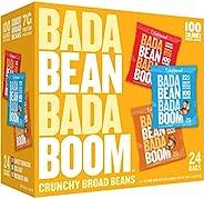 Enlightened Bada Bean Bada Boom Plant-based Protein, Gluten Free, Vegan, Non-GMO, Soy Free, Roasted Broad Fava Bean Snacks,