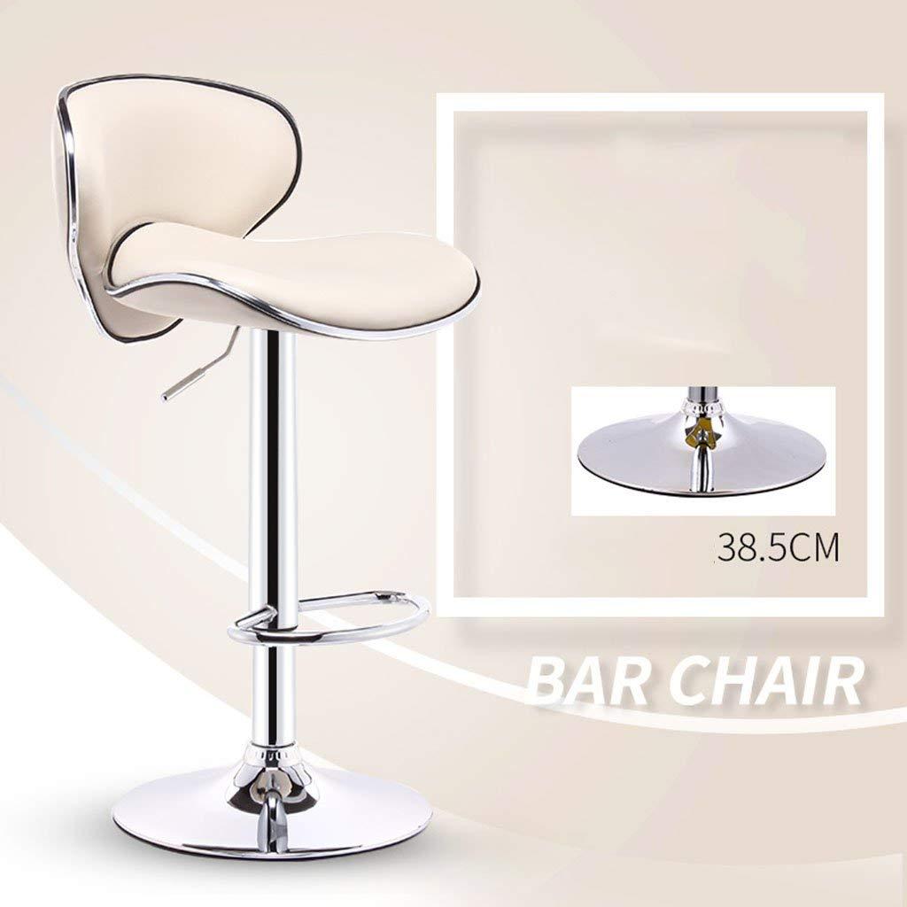 10 JZX Seat, Bar Chair, Liftable and redatable Reception Bar Stool, European Sponge Cushion Bar Stool, Cash Register Chair