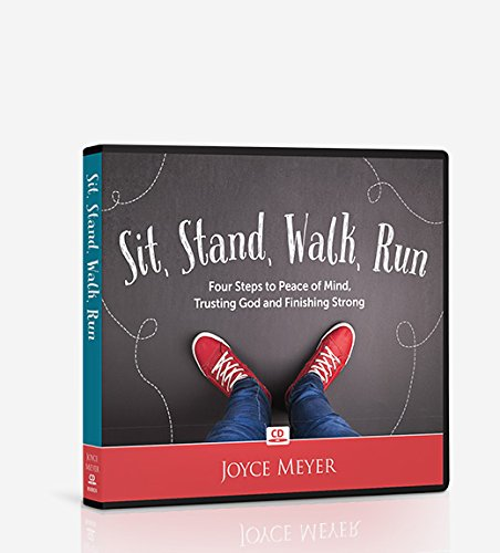 Joyce Meyer CD Album Sit, Stand, Walk, Run: Four Steps to Peace of Mind, Trusting God and Finishing Strong