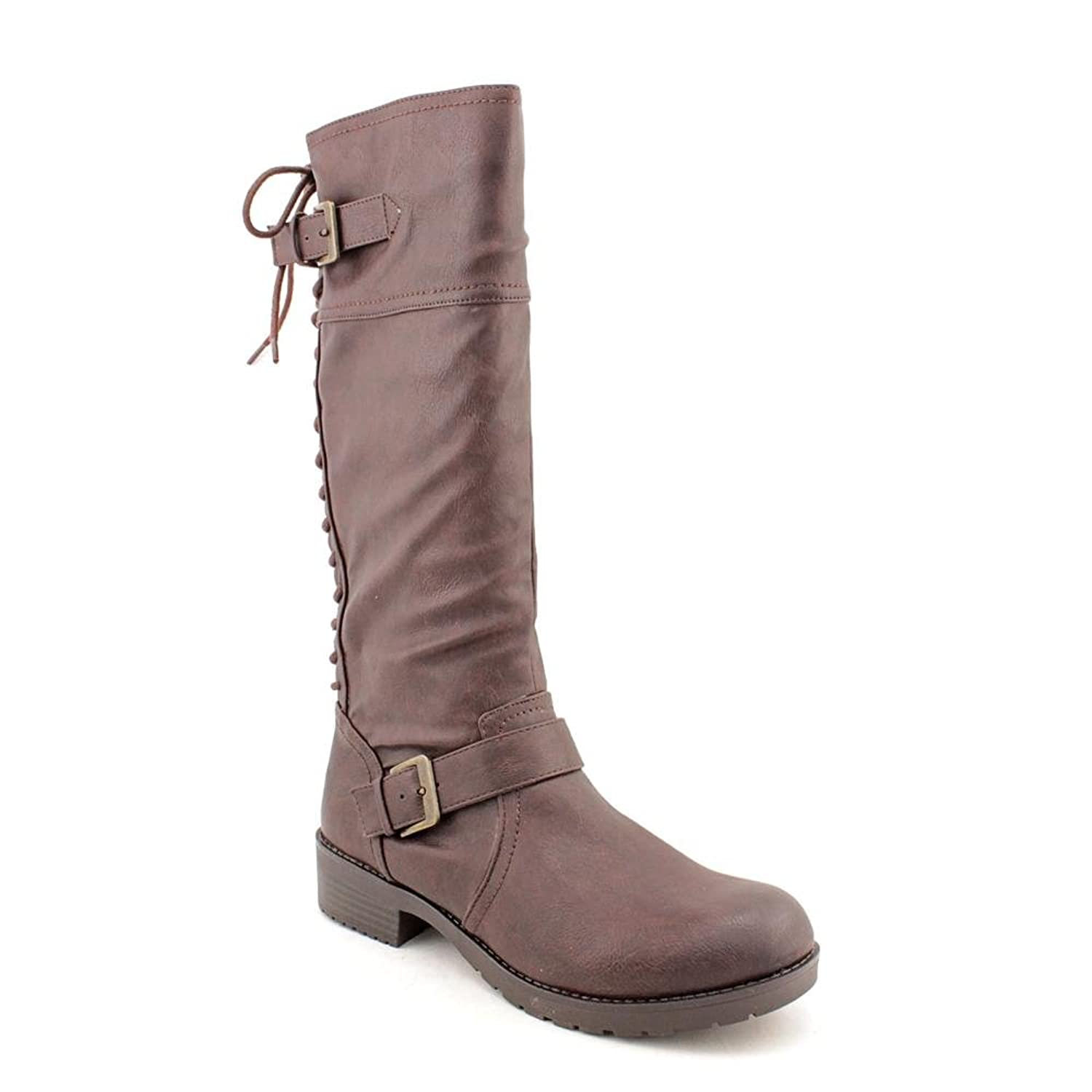 Fergalicious By Fergie Castello Tall Shaft Lace Back Boots
