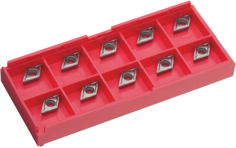 pk of 10 Grizzly H8337 Carbide Inserts DCMT for Cast-Iron