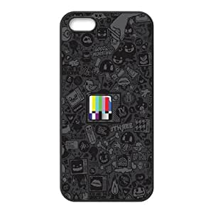 iPhone 5 5s Cell Phone Case Black Tv Kills Everything SUX_170426