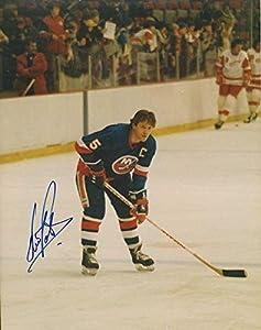 Autographed Denis Potvin Photo - 8X10 w COA #4 - Autographed NHL Photos