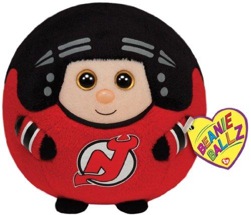 TY Beanie Ballz New Jersey Devils Plush, NHL ()
