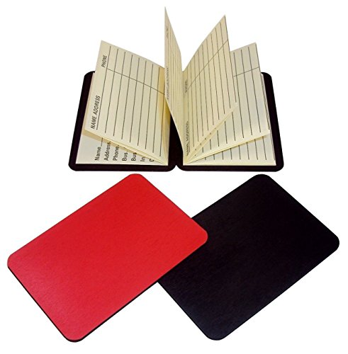 Magnetic Wallet Address Book - Set of 2 - Keep Contact Info Handy At All Times. (Book Small Address)