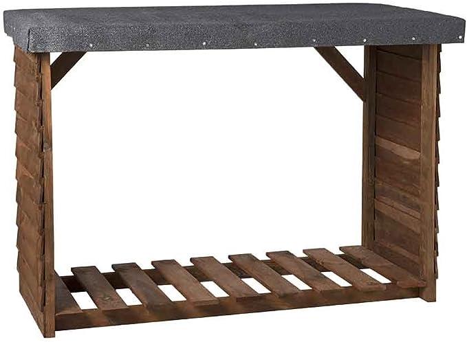 Catral 31130001 Leñero, Pino, 140 x 60 x 100 cm: Amazon.es: Jardín