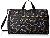 LeSportsac Extra Large Weekender Duffle Bag, Gold Links, One Size